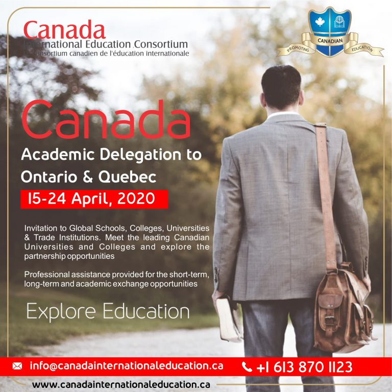 Academic Delegation - Ontario and Quebec